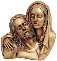 Joseph & Mary Wall Bronze Statues
