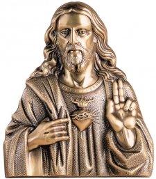 God Loves Us Wall Bronze Statues