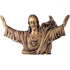 Rise Wall Bronze Statues