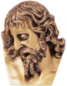 Gott Wall Bronze Statues