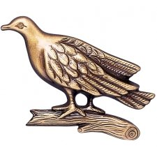 Dove Wall Bronze Statues