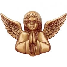 Praying Angel Wall Bronze Statues