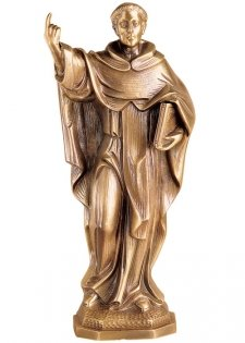San Vincente Wall Bronze Statues