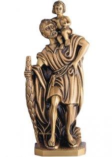 San Cristobal Wall Bronze Statues