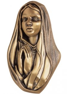 Our Mother Wall Bronze Statues