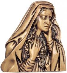 Maria De Lourdes Wall Bronze Statues