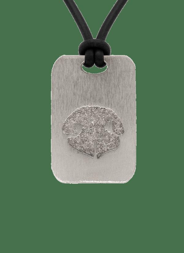Bronze Noseprint Keepsake Pendant