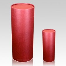 Burgundy Scattering Biodegradable Urns