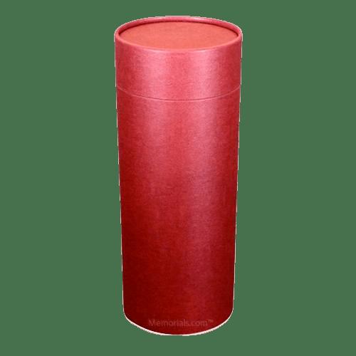 Burgundy Scattering Mini Biodegradable Urn
