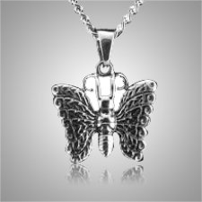 Heavenly Butterfly Cremation Pendant