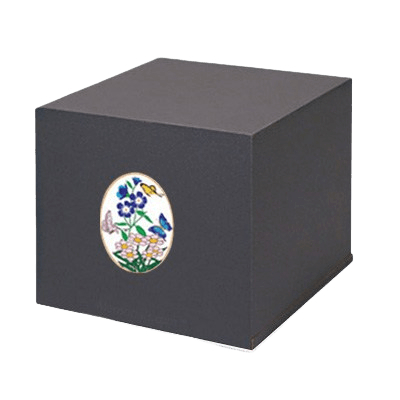 Swedish Butterflies Cremation Urn
