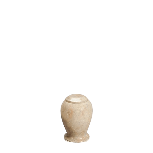 Suntan Small Marble Cremation Urn