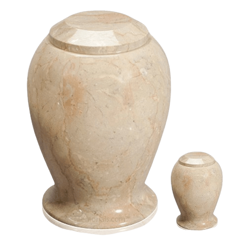 Suntan Marble Cremation Urns