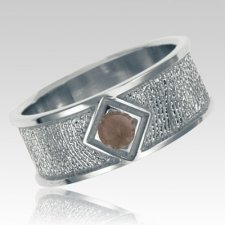Topaz Sterling Silver Ring Print Keepsake