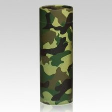 Camouflage Scattering Biodegradable Urn