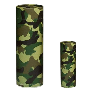 Camouflage Scattering Biodegradable Urns