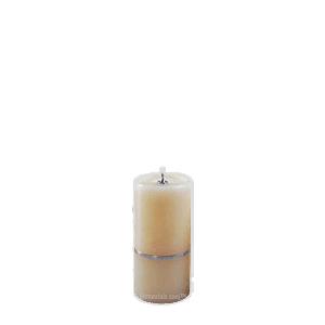 Chrome Band Keepsake Candle Urn