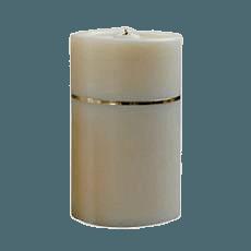 Candle Gold Keepsake Urn