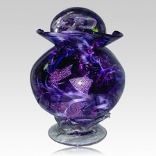 Diochroic Purple Companion Cremation Urn