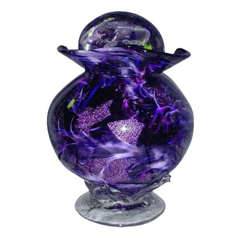 Diochroic Purple Companion Cremation Urn
