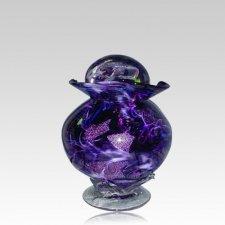 Diochroic Purple Keepsake Cremation Urn