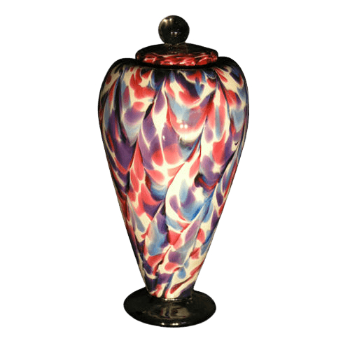Unique Carnival Art Urn