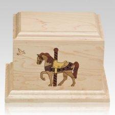 Carousel Children Infant Cremation Urn