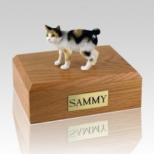 Japanese Bobtail Tort Cat Cremation Urns