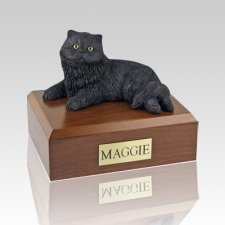 Persian Black Cat Cremation Urns