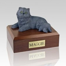Persian Grey Cat Cremation Urns