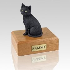 Black Cat Cremation Urns