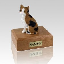 Calico Cat Cremation Urns