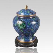 Hong Kong Blue Child Cremation Urn