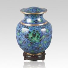 Palace Blue Child Cremation Urn