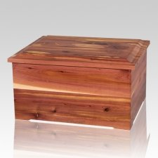 Royal Cedar Memory Chest Cremation Urn