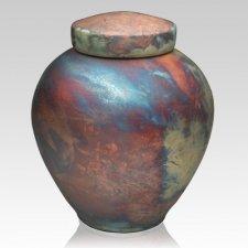 InterRoll Raku Companion Cremation Urn