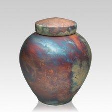 InterRoll Raku Medium Cremation Urn