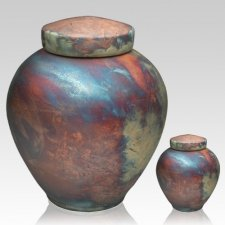 InterRoll Raku Cremation Urns