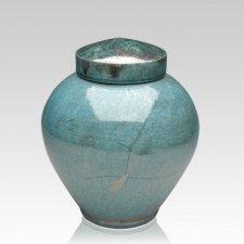 Padoga Raku Medium Cremation Urn