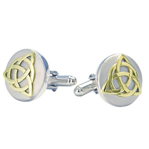 Celtic Gold Cremation Cufflinks
