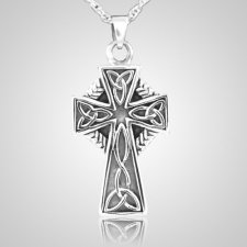 Celtic Cross Cremation Jewelry III