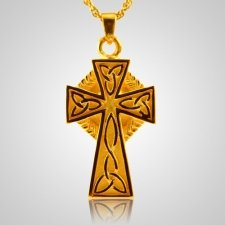 Celtic Cross Cremation Jewelry IV