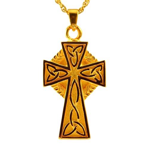 Celtic Cross Cremation Jewelry IV