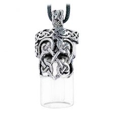 Celtic Cremation Necklace Urn