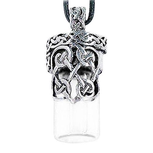 Celtic Cremation Necklace Urn