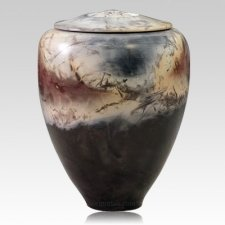 Olli Ceramic Cremation Urn