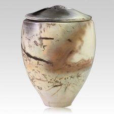 Drogo Ceramic Cremation Urn