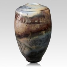 Hoyt Ceramic Cremation Urn