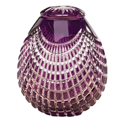 Caesar Glass Cremation Urn