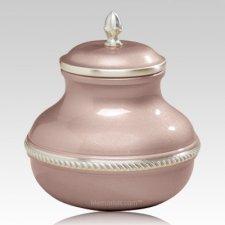 Pink Pastel Pet Cremation Urn